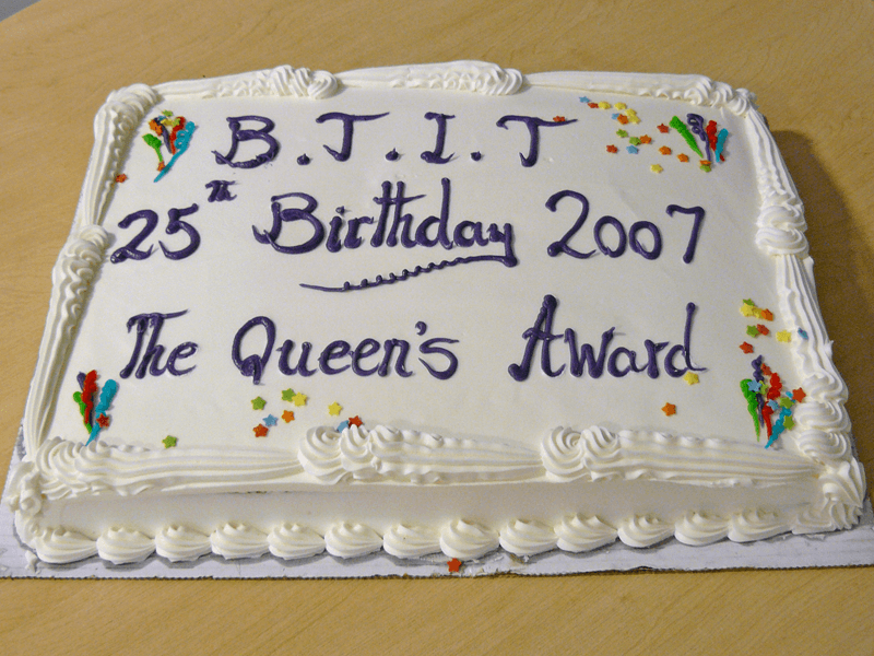 BTIT Queen's Award